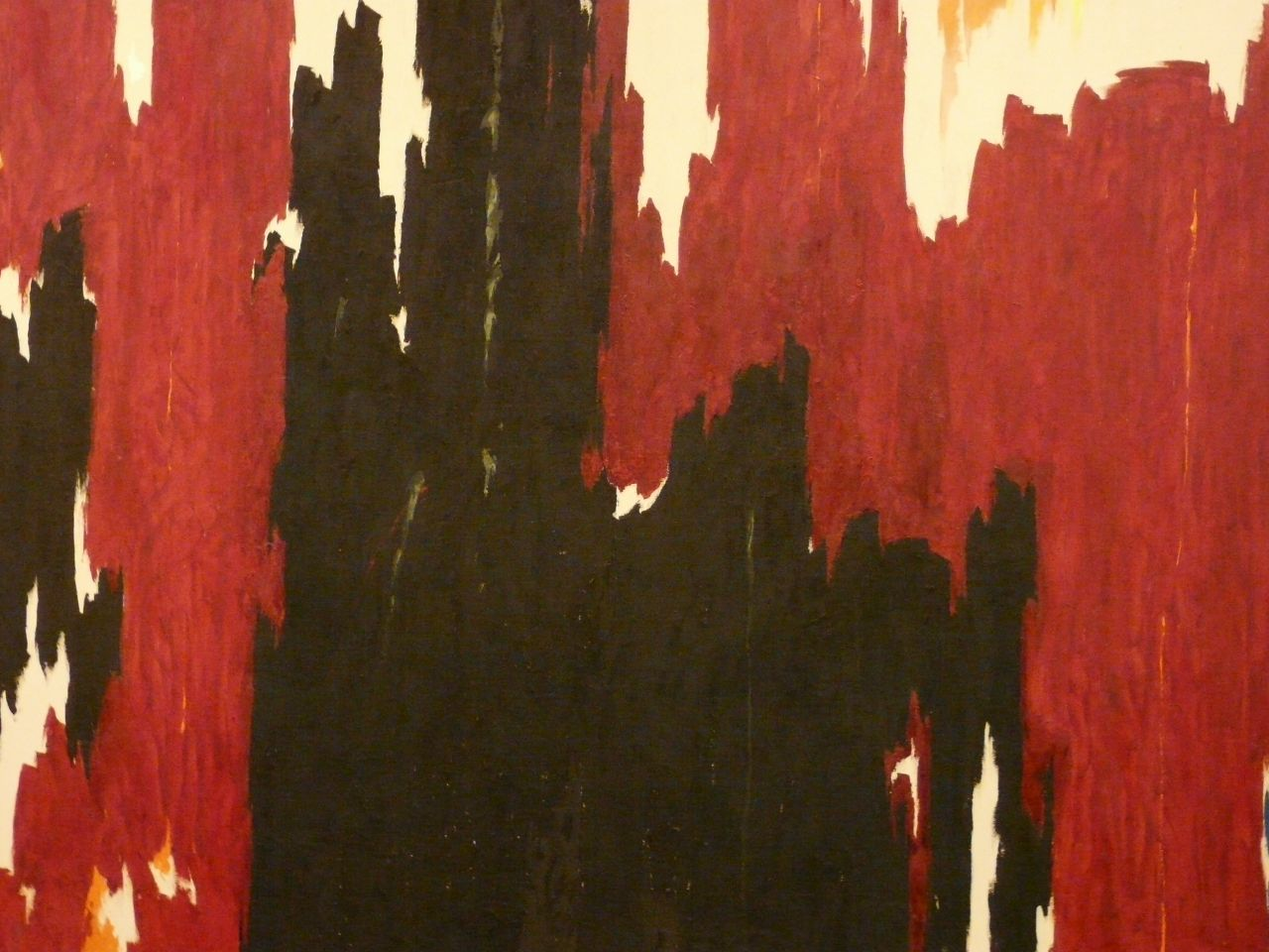 Clyfford Still Untitled 1960 Oil on Canvas